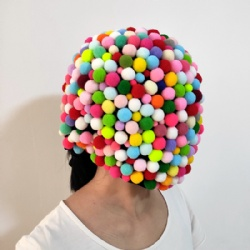 Candy ball mask for performance
