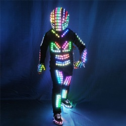 DMX512 Full color LED Robot Costumes